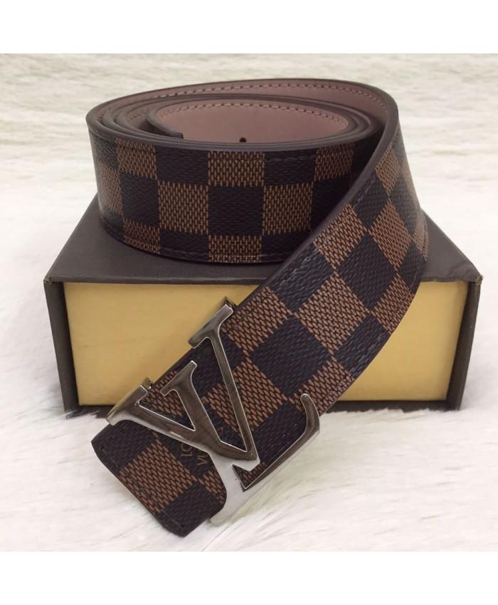 Branded LV Belts